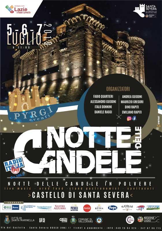 Notte delle Candele - Castello di Santa Severa